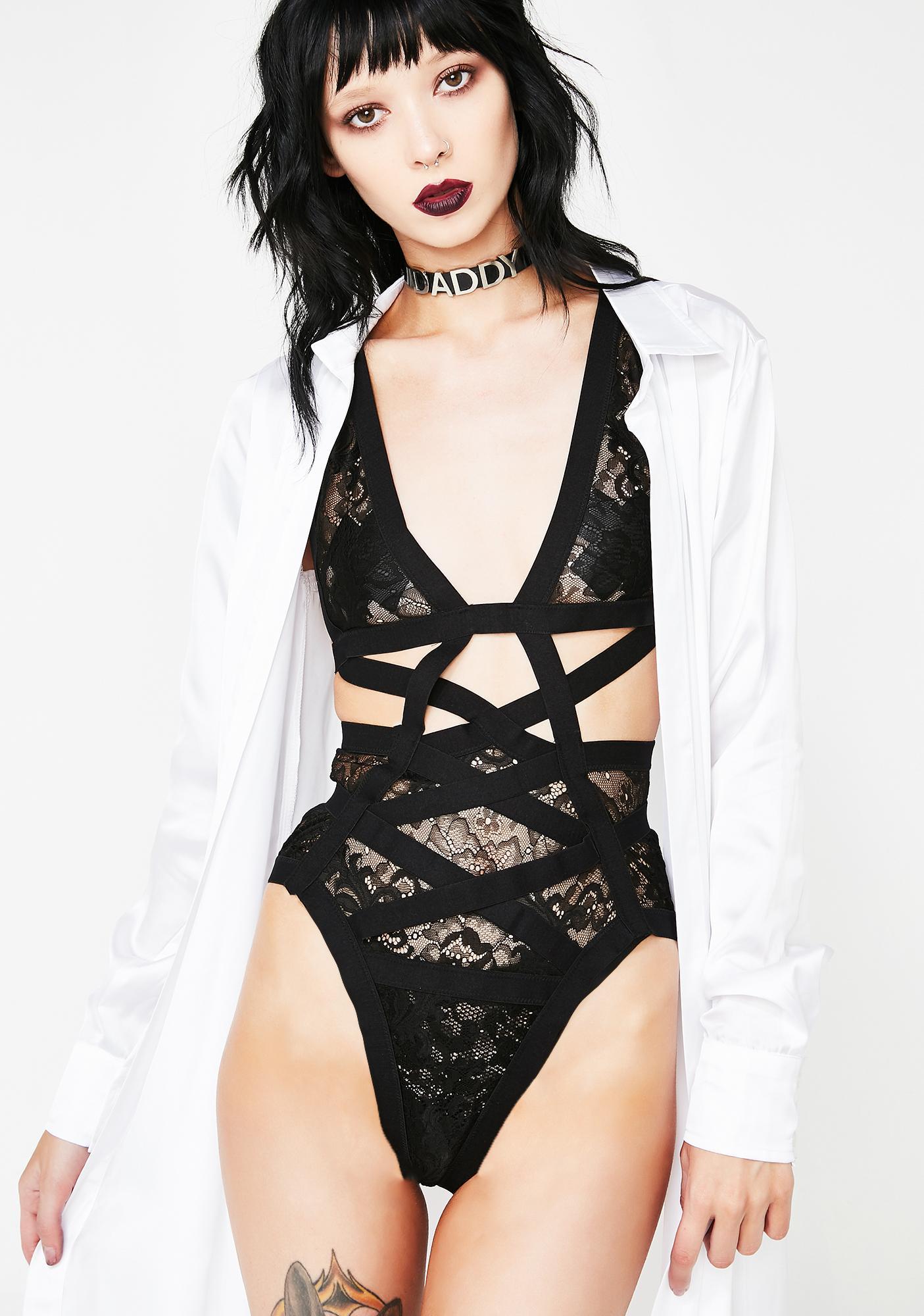 Get Ya Freak On Lace Bodysuit
