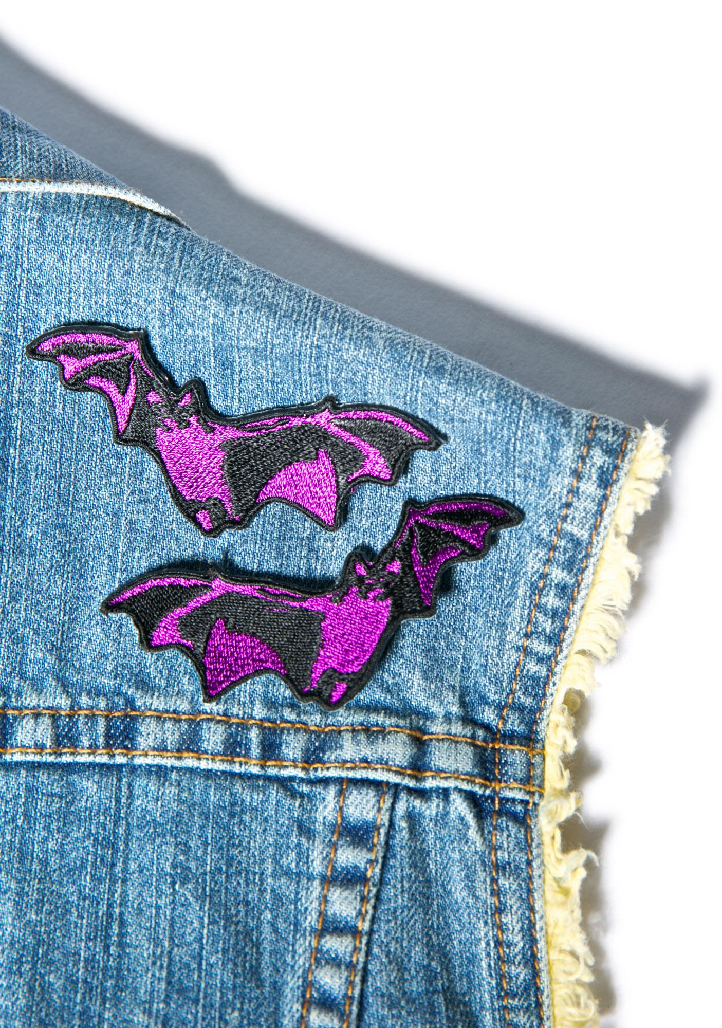 Double Trouble Bat Patch Set