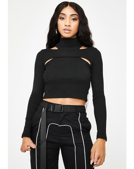 Toxic Cult Crop Top