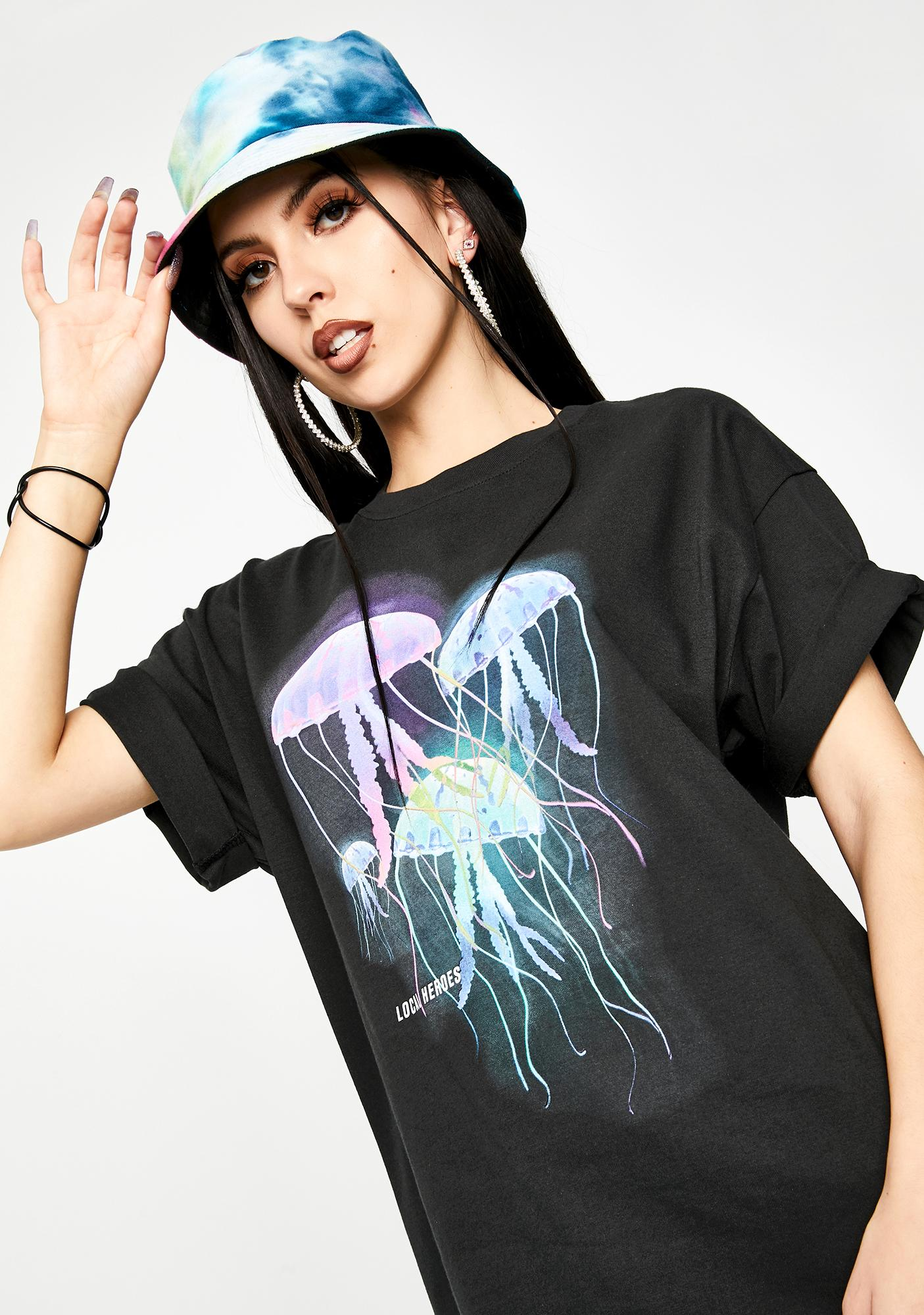 Local Heroes Jellyfish Graphic Tee