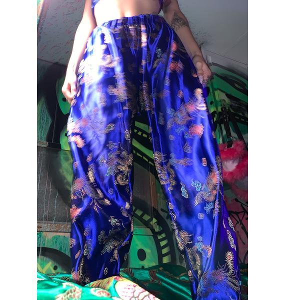 Tiar Blue Dragon Wide Leg Pants