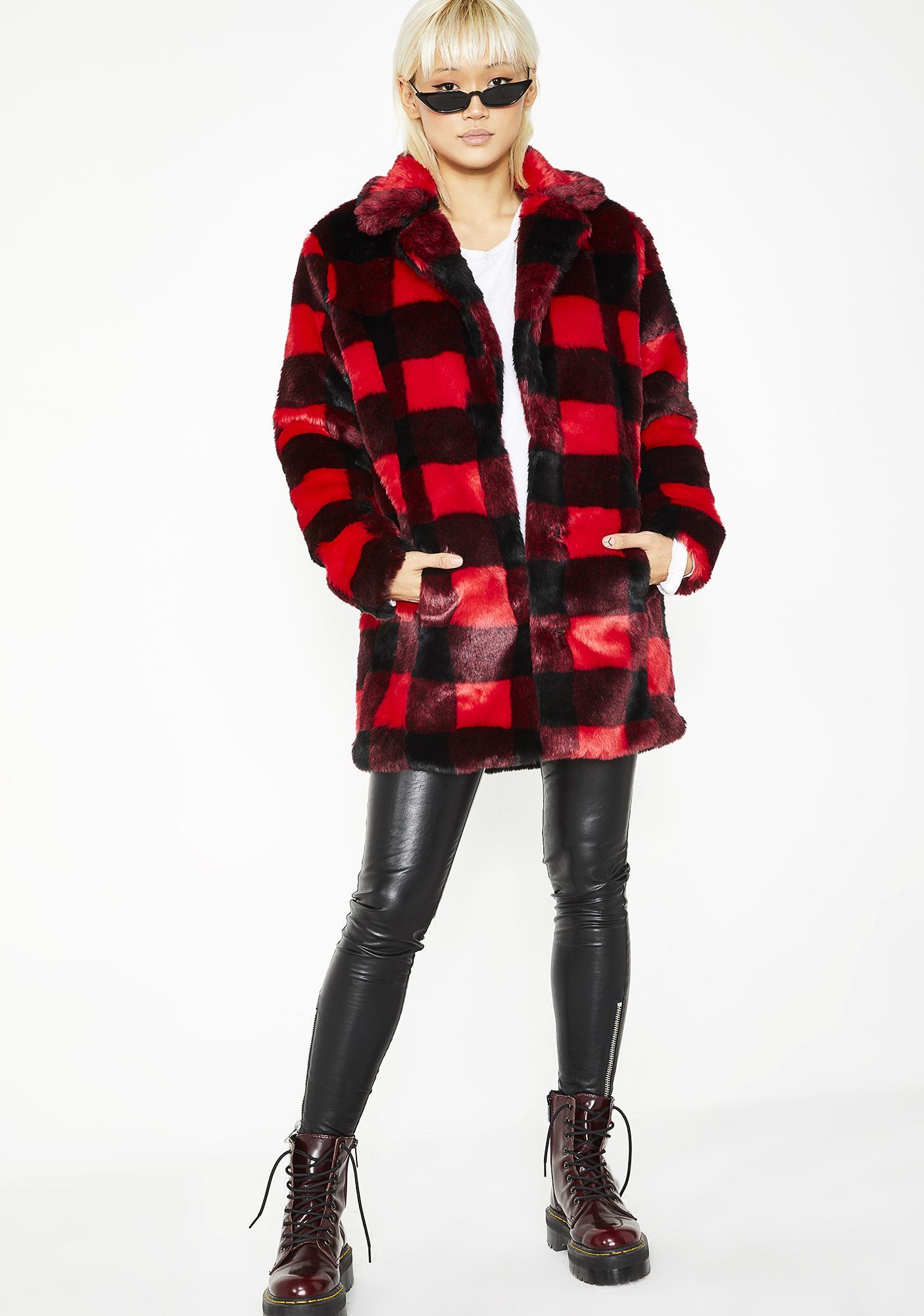 4d7469b983dad Current Mood No Values Faux Fur Jacket