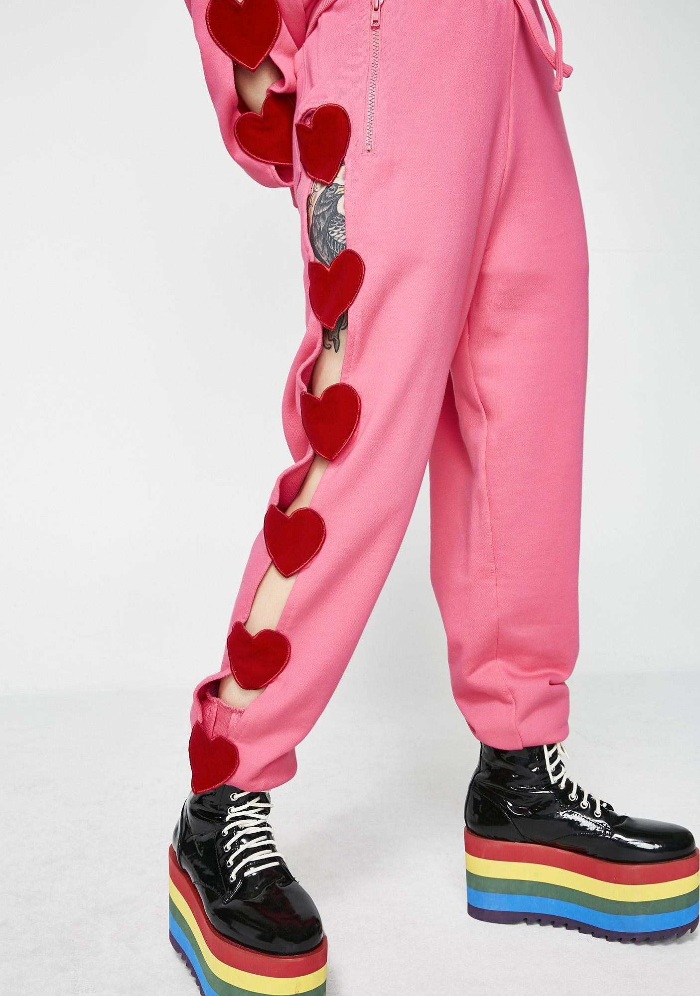 Lazy Oaf Heart Breaker Track Pants