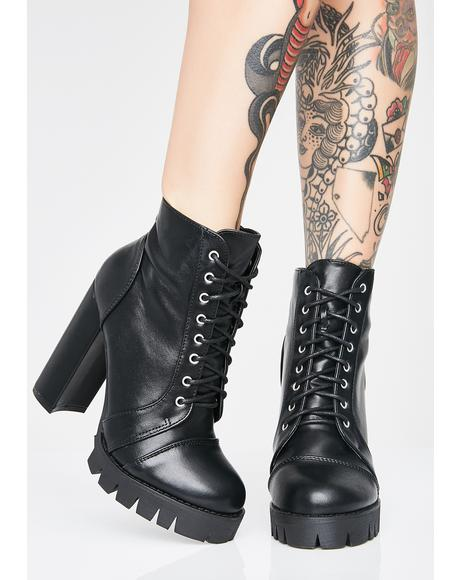 Moonlit Babe Heeled Boots