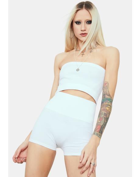Icy Hips Don't Lie Seamless Wide Band Biker Shorts