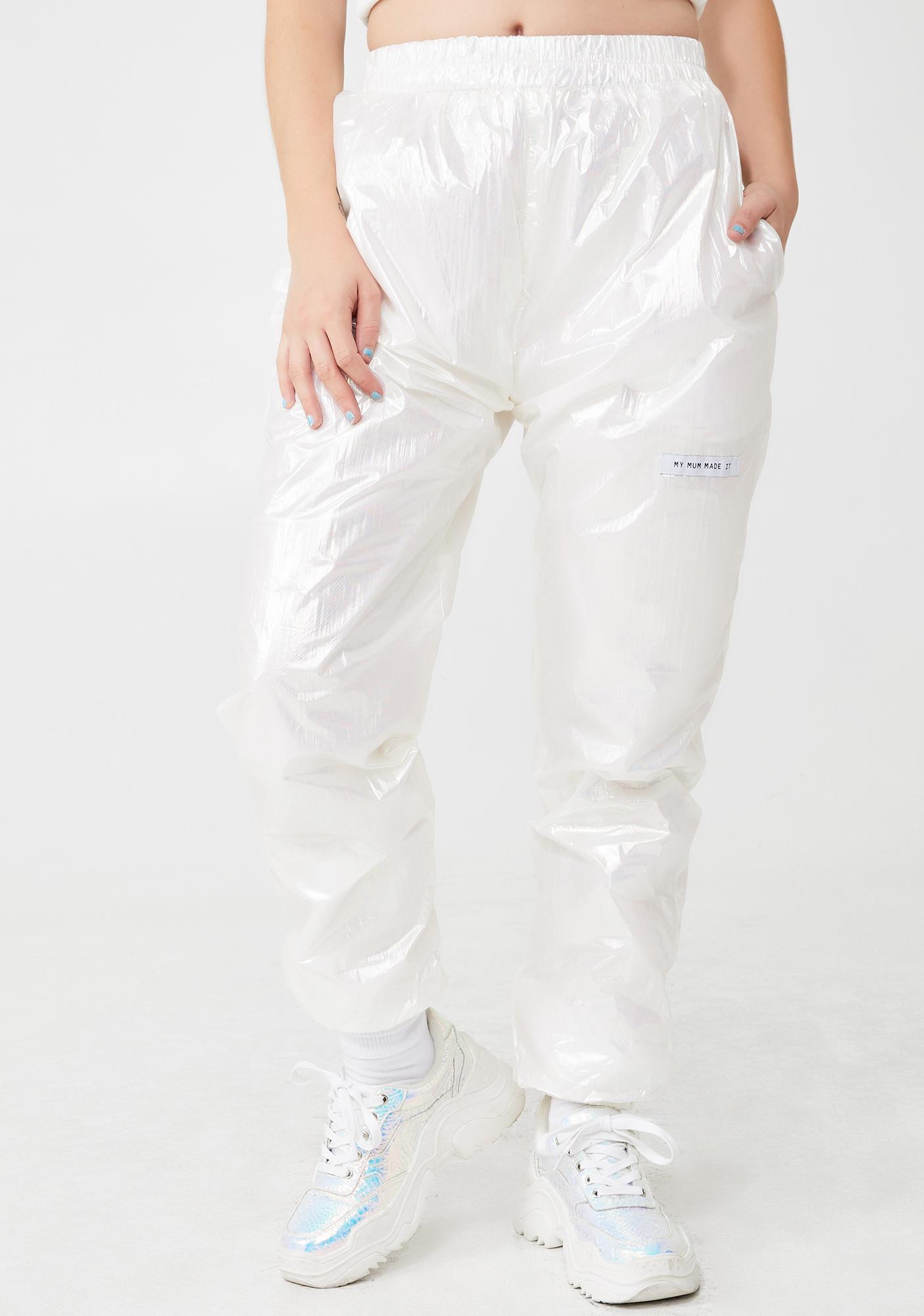 My Mum Made It Icy Metallic Sweatpants