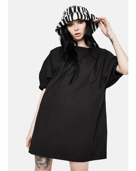 Luna Puff Sleeve Mini Dress