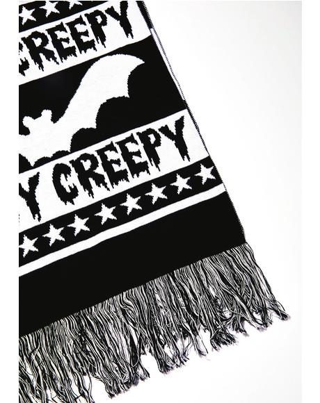 Stay Creepy Scarf