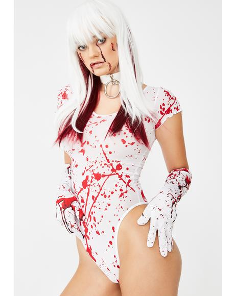 Murder She Wrote Bloody Bodysuit