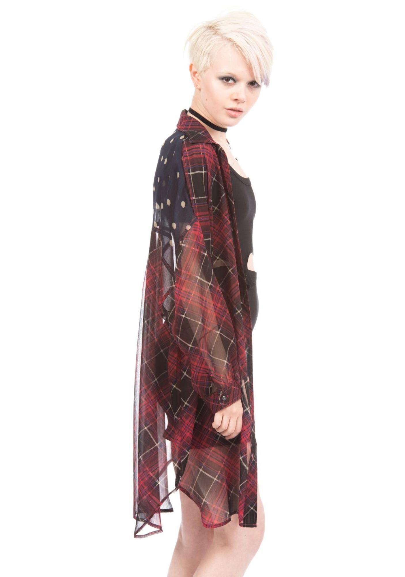 Under The Table Wide Shirts Dress