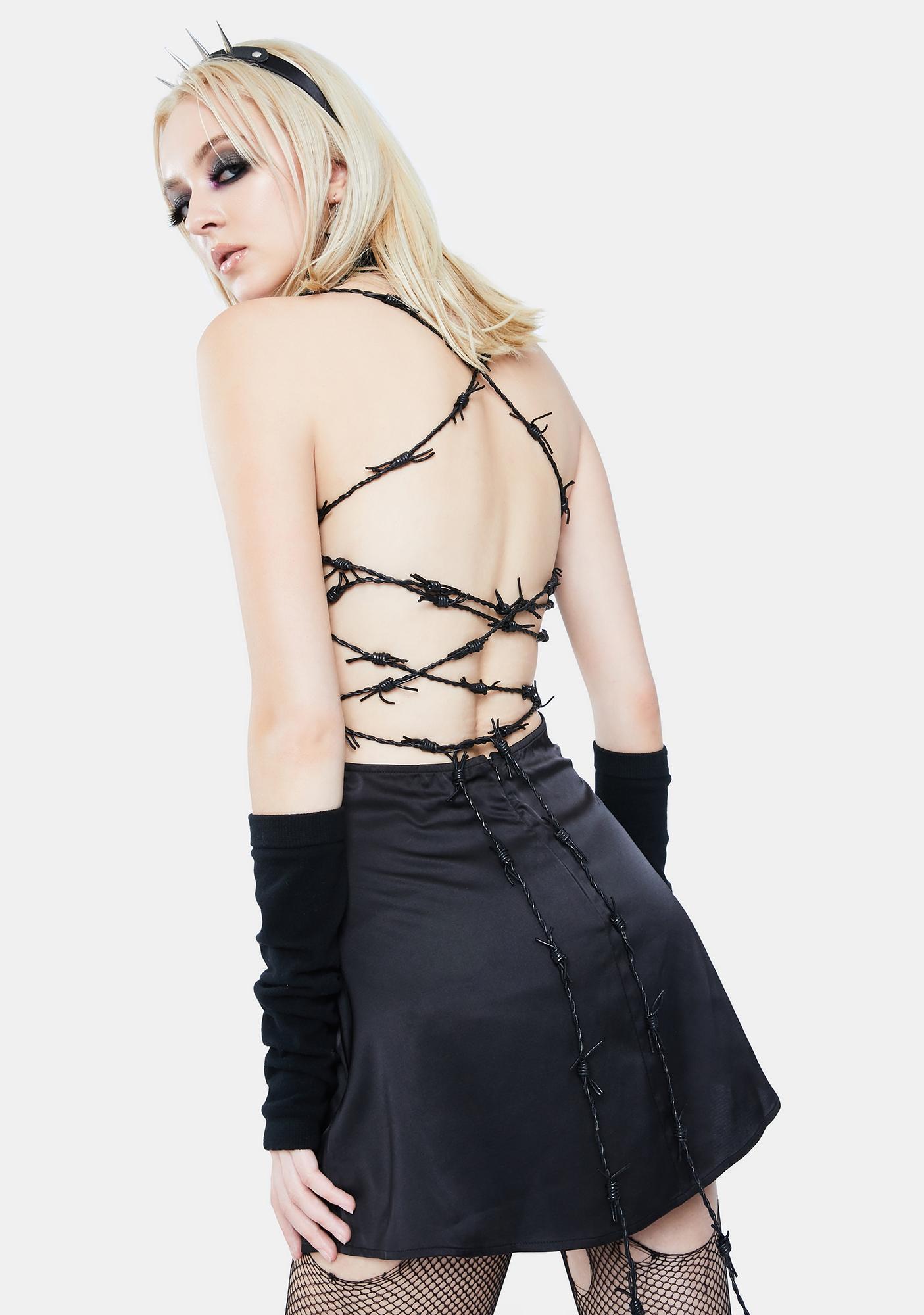 Current Mood Piercing Through Mini Dress