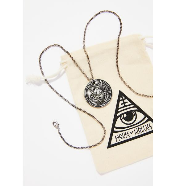 Disturbia Coin Necklace
