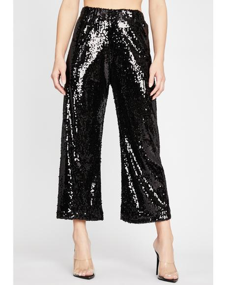 Sorry For What Sequin Pants