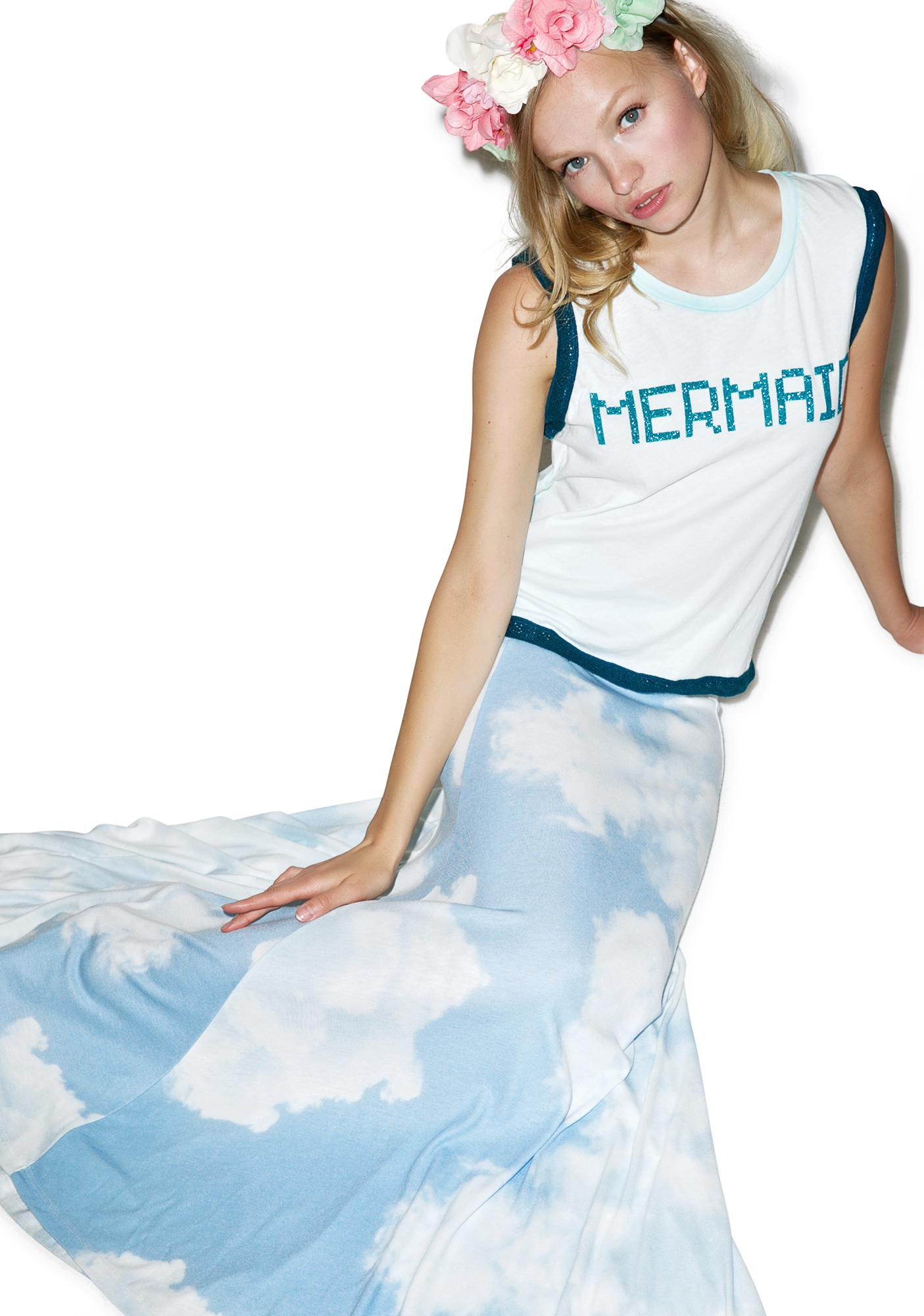 Wildfox Couture BFF Mermaid Barback Tank