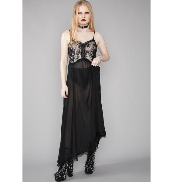 Widow Breath Of Prayer Maxi Dress