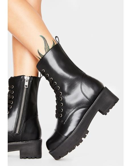 Repeat Offender Combat Boots