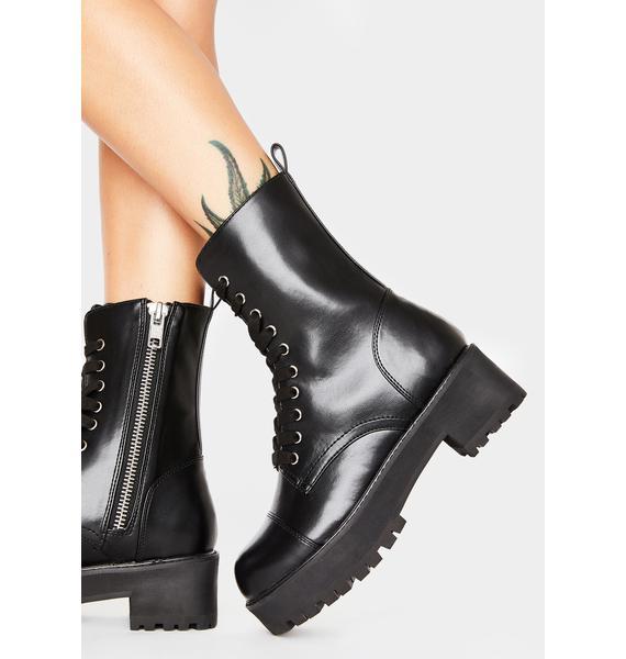 Current Mood Repeat Offender Combat Boots