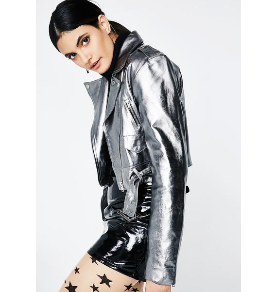 Glamorous Electric Vibration Moto Jacket