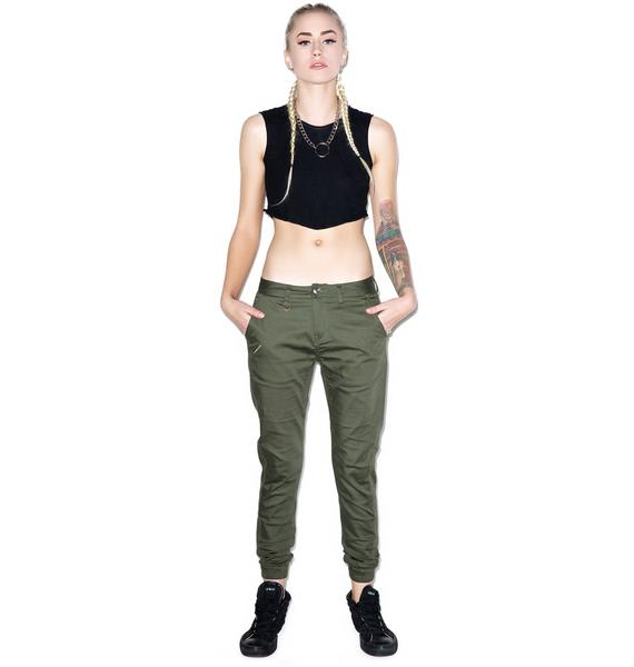 Publish Hanna Stretch Twill Jogger Pants
