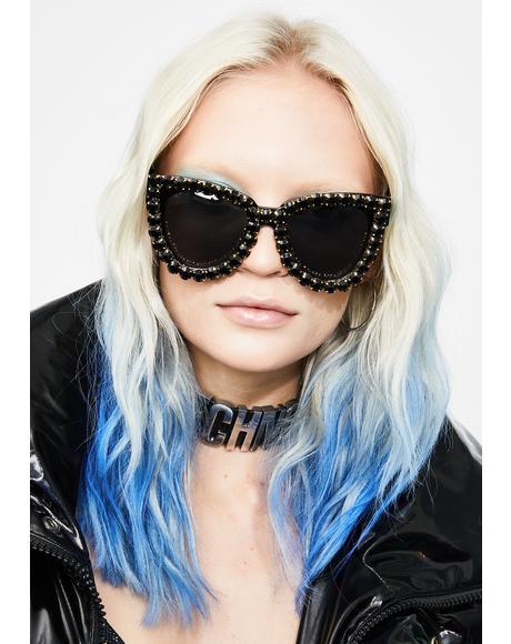 Blame The Fame Cat Eye Sunglasses