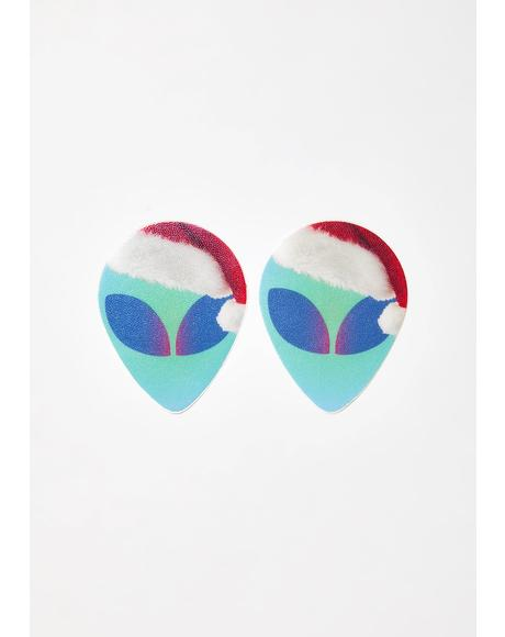 Alien Santa Pasties