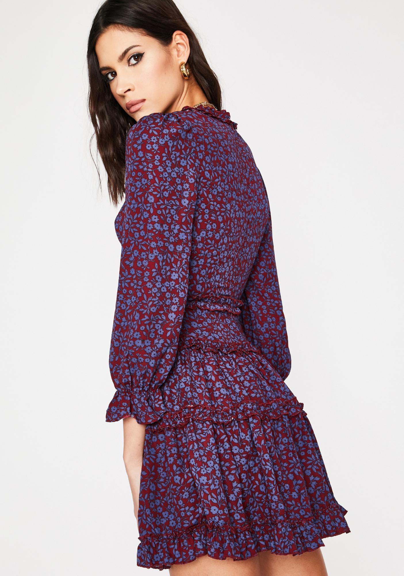 Buy Me Flowers Babydoll Dress