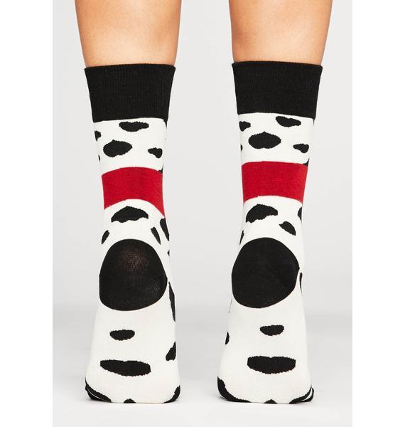 Making Moo-ves Crew Socks
