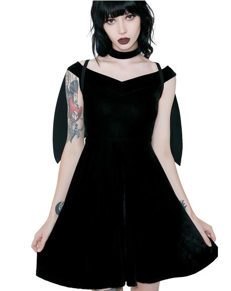 Tokyo Nights Hunter Dress