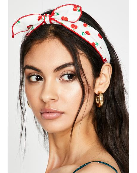 Seventeen Candles Cherry Headband