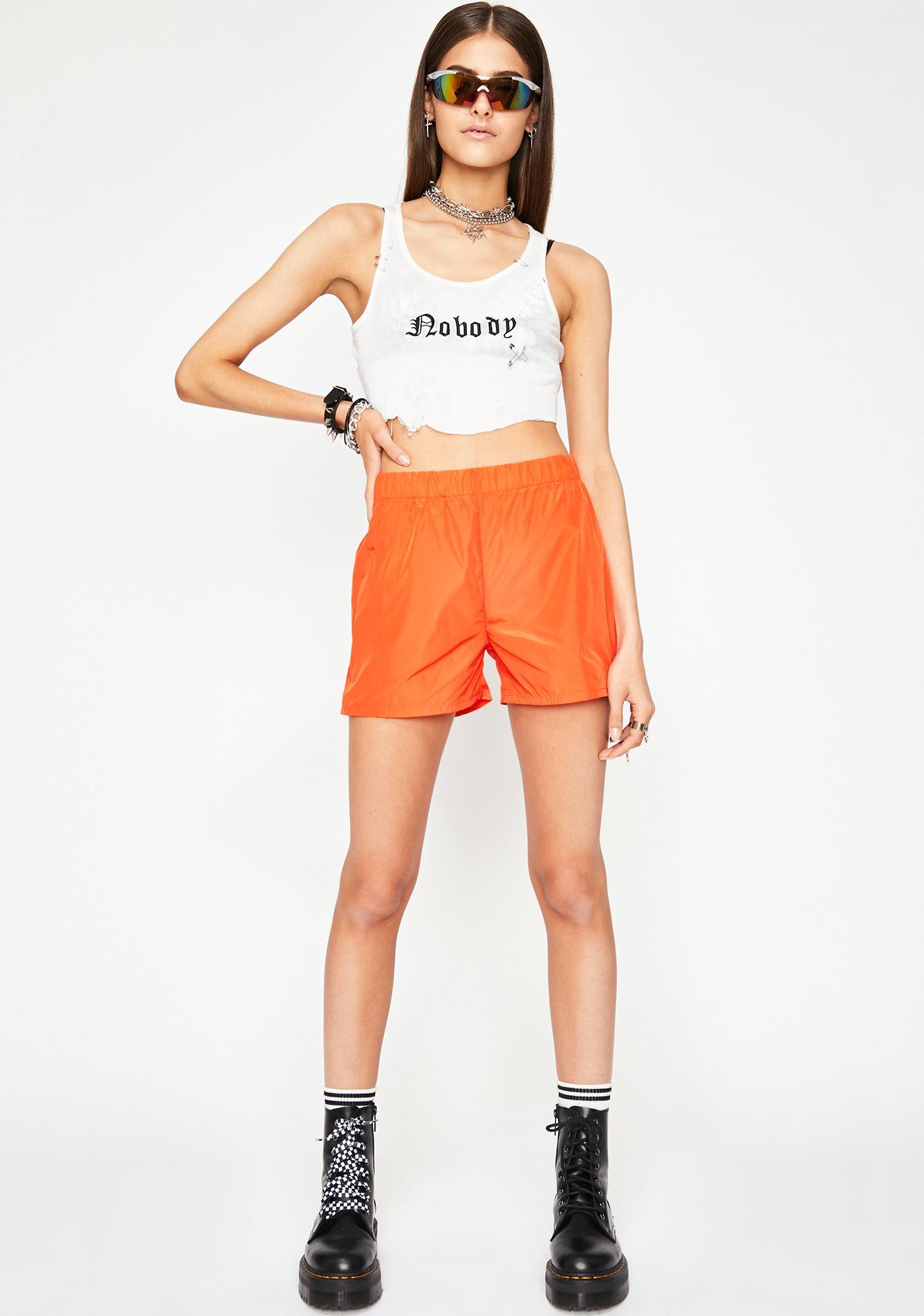 Alley Cat Nylon Shorts