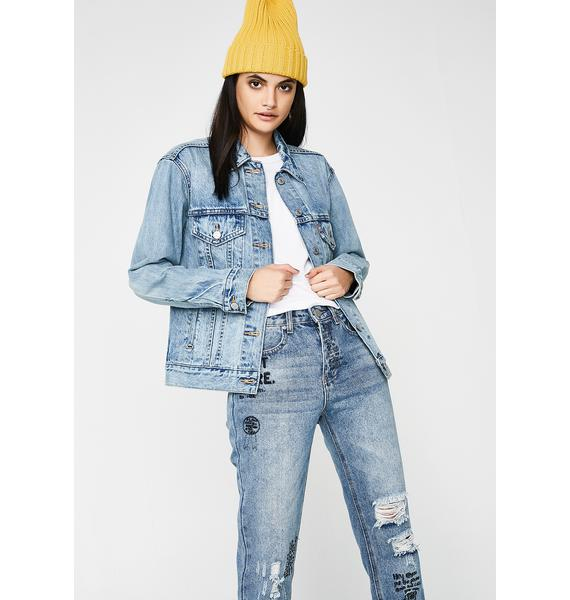 Levis Dream Of Life Ex-Boyfriend Trucker Jacket