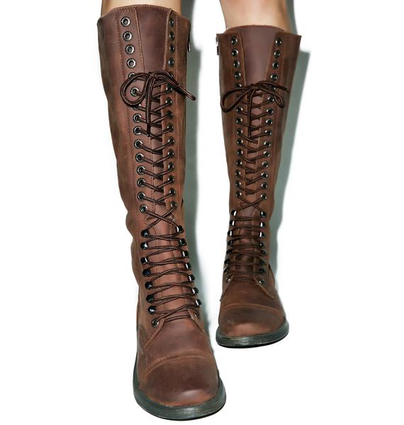 ROC Boots Distressed Fleet Boots