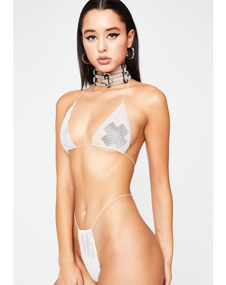 Icy Sex Sells Rhinestone Set