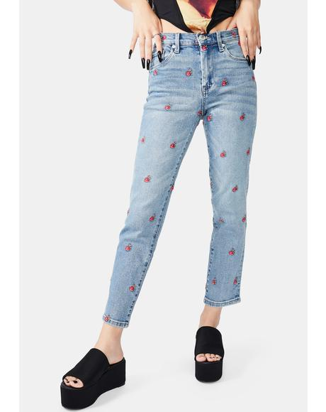 Ever After Embroidered Jeans
