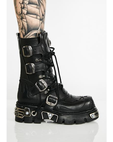 Skull Crusher Platform Boots