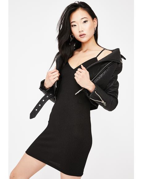 Deadly Attraction Mini Dress