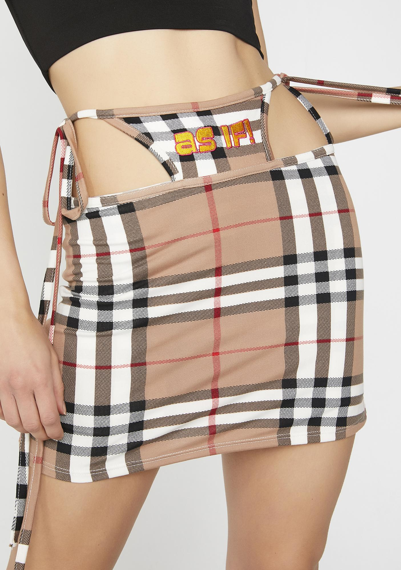 O Mighty As If G String Skirt