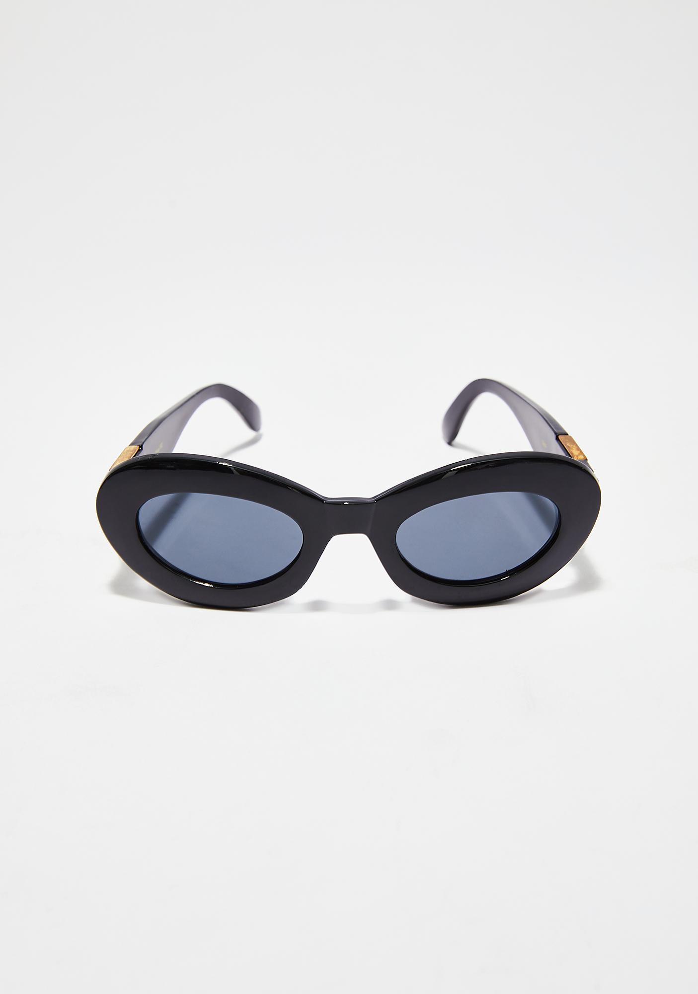 Ragz To Richez Oval Sunglasses