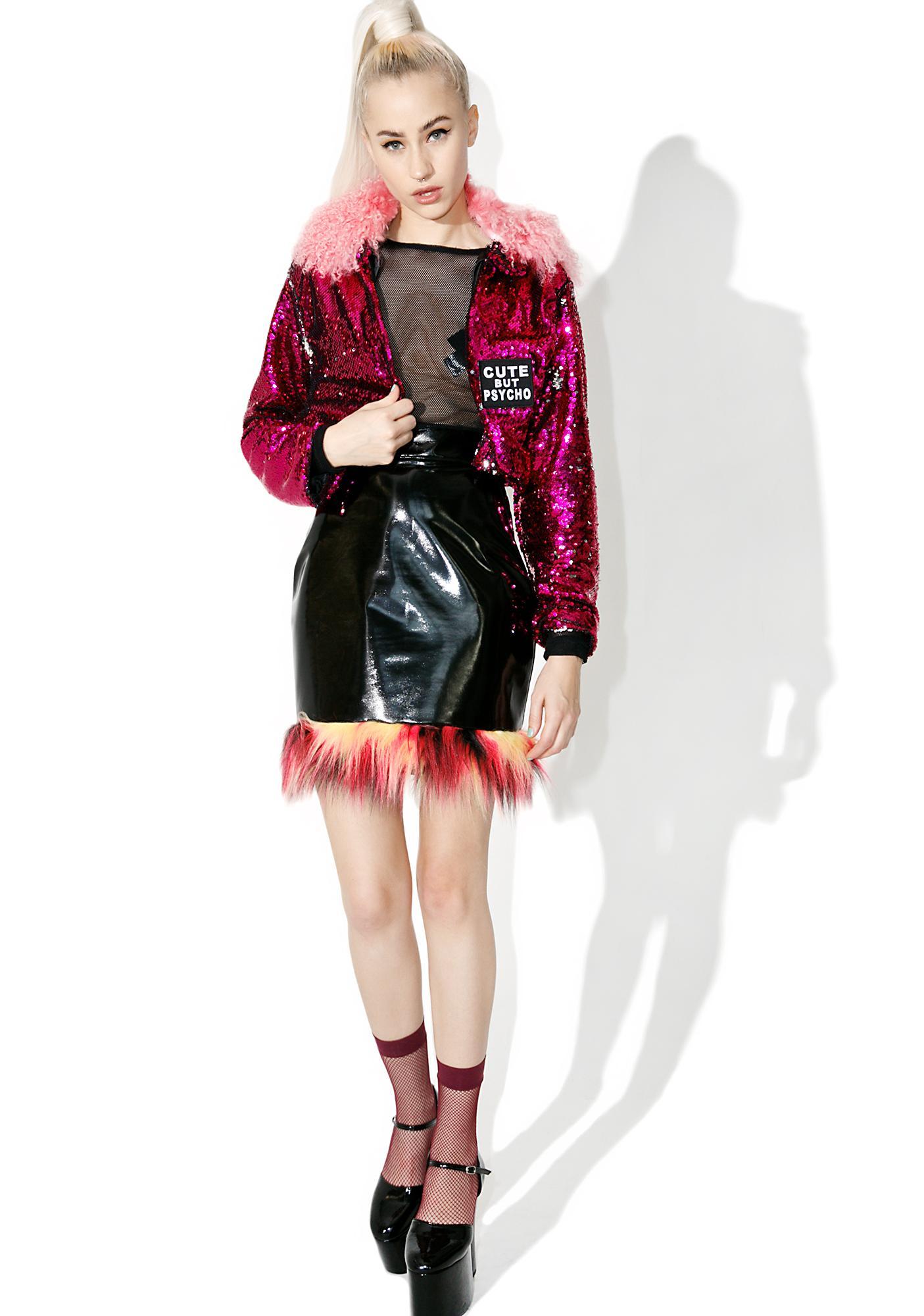 Isolated Heroes Fan Girl Sequin Coat