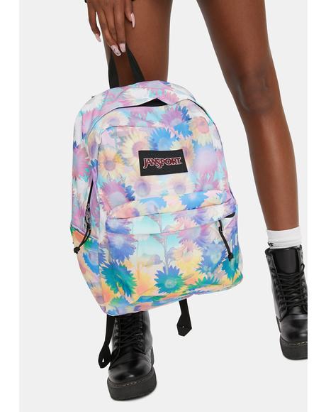 Sunflower Field Backpack
