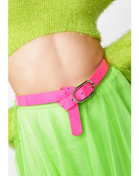 Neon Nightz Skinny Belt