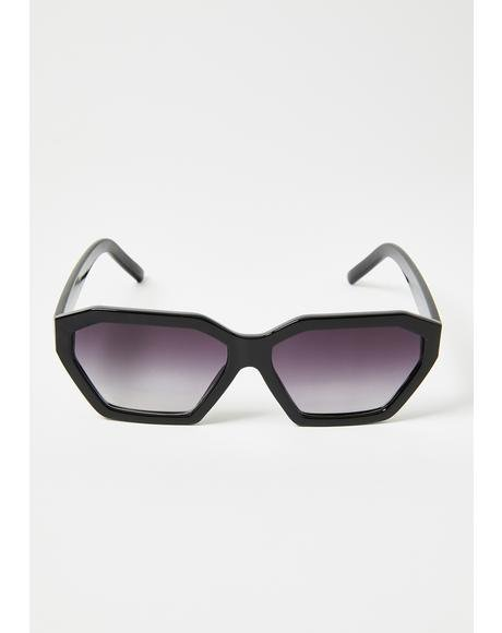 Take It Easy Geometric Sunglasses
