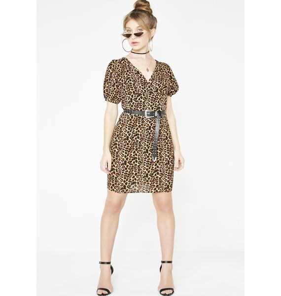 Spotted Sass Leopard Dress