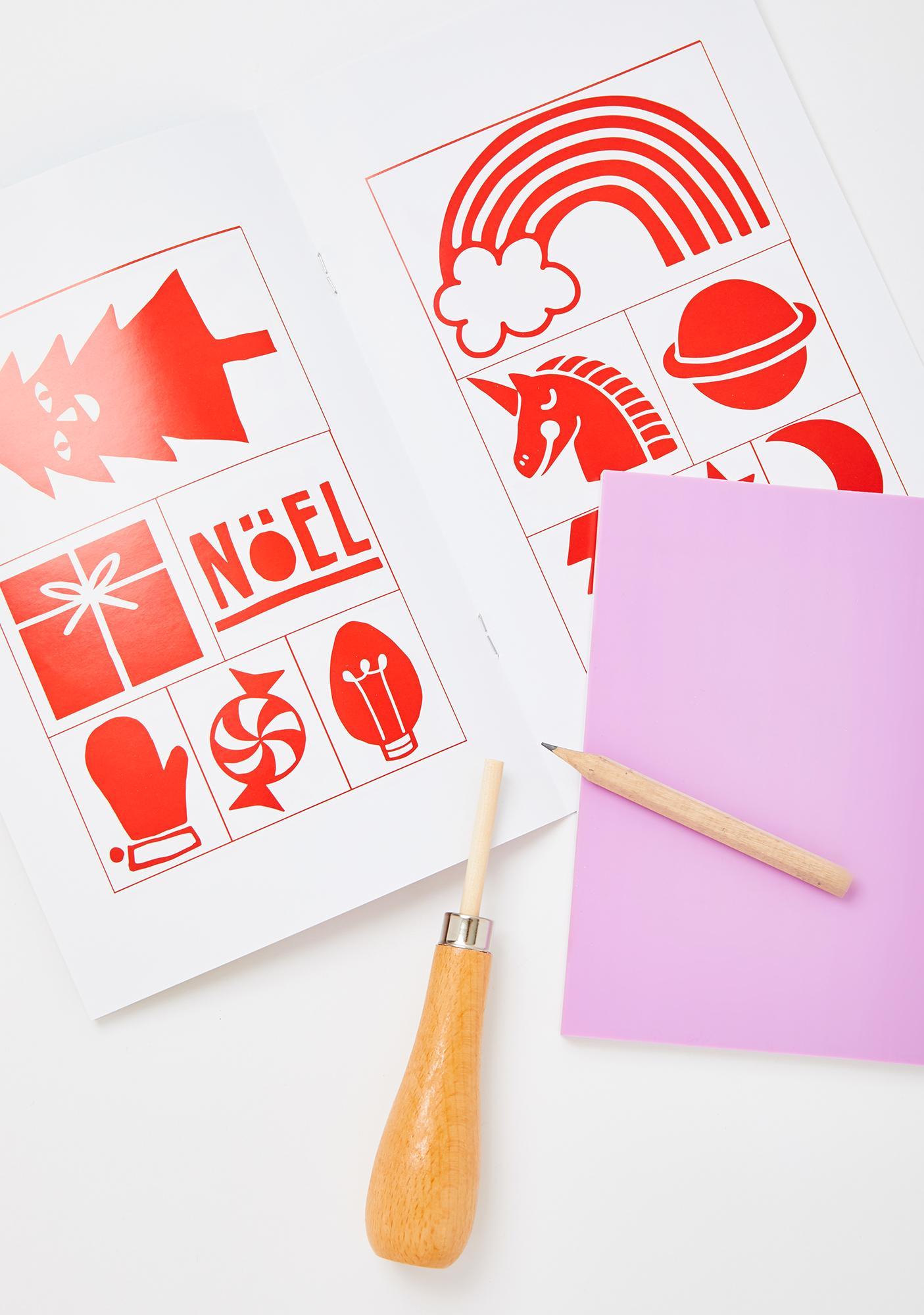 Yellow Owl Workshop Carve-A-Stamp DIY Rubber Stamp Kit