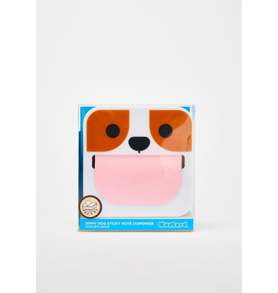 Dippy Dog Sticky Note Dispenser