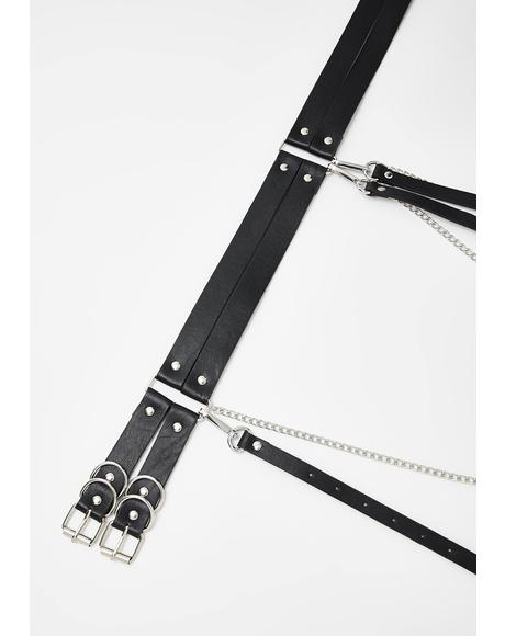 Trailin' Ahead Chain Belt