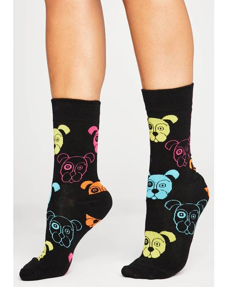 Issa Pawty Ankle Socks