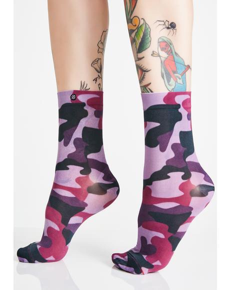 Aphrodite Crew Socks