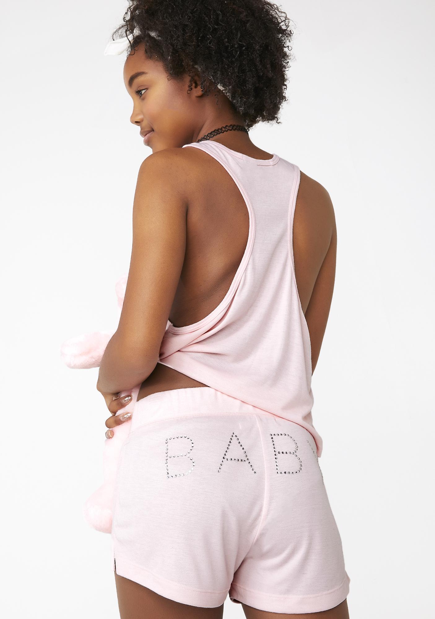 Wildfox Couture Baby Glitz Britney Shorts