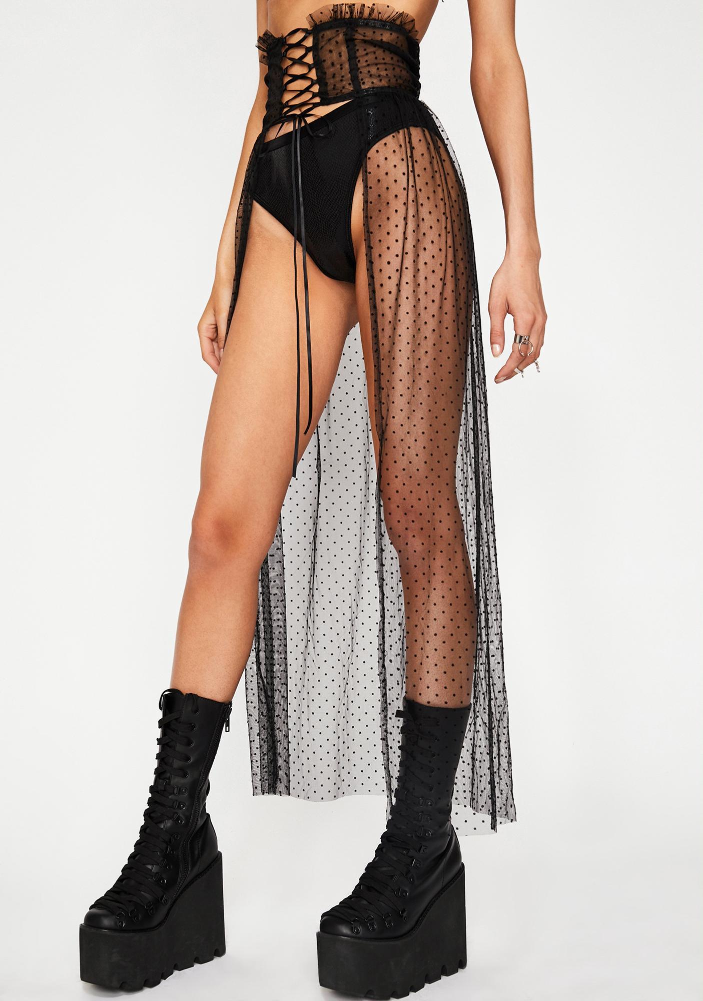 Warrioress Corset Maxi Skirt